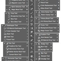 Useful Photoshop shortcuts