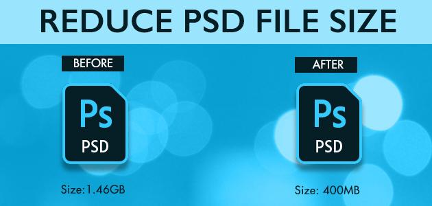 Reduce PSD File Size Without Quality Loss