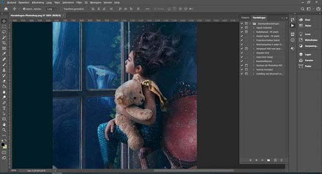 Photoshop Tip: Automating Operations with Actions